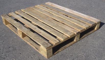 Safe Second Hand Wooden Pallets