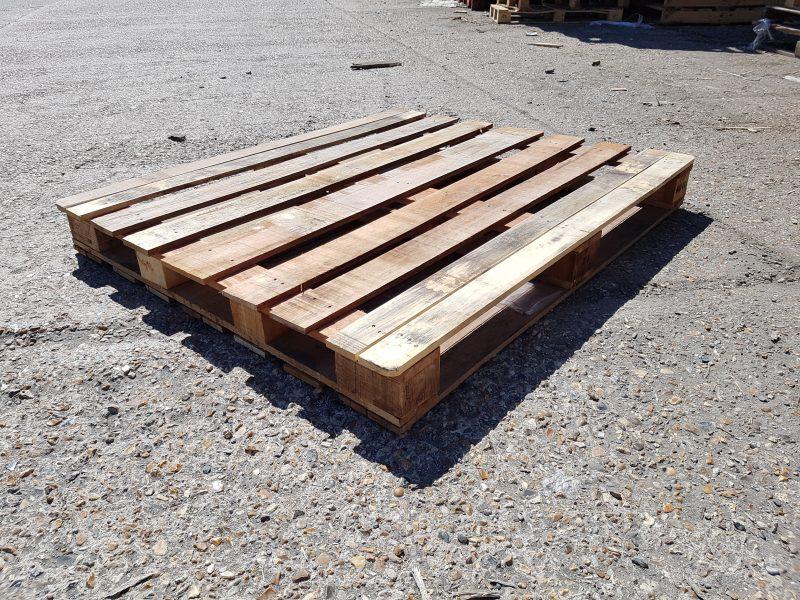 a wooden pallet