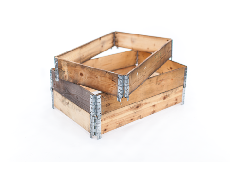 Used Wooden Pallet Collars