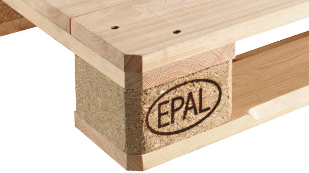 Euro Wooden Pallets | EPAL | 1200 x 800mm | Heat Treated |