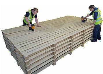 wooden pallet industry