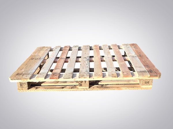 wooden pallet ready for delivery