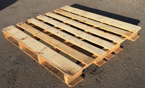 outdoors wooden pallet