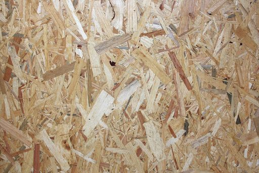 Oriented Strand Board Material