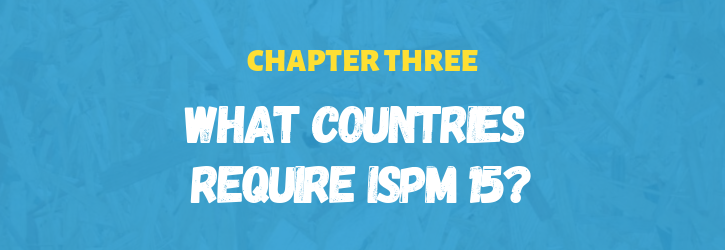 What countries require ISPM 15